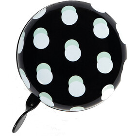 URBAN PROOF Ding Dong Ringeklokke 6,5cm, dots black